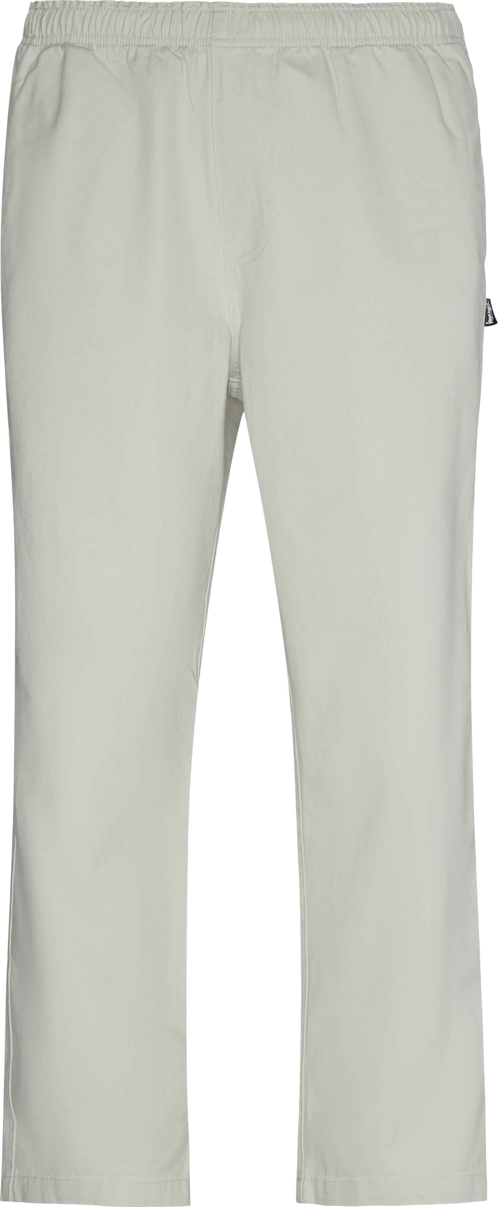 Brushed Beach Pant - Bukser - Loose fit - Hvid